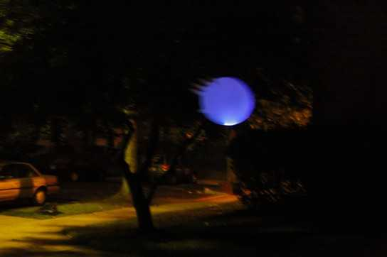 Blue Flying Ghost